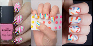 12 candy nail art designs u2014 dessert and food nail art ideas