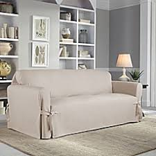 slipcover for sofa fit relaxed fit sofa slipcover bed bath beyond