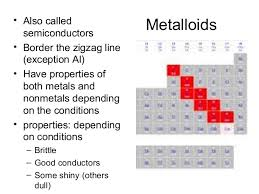 where are semiconductors on the periodic table periodic table notes