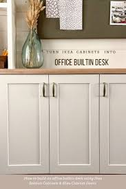 ikea kitchen cabinets without doors build office builtins with ikea cabinets honey built home
