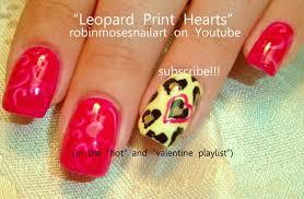 valentine nail art with words nail nailsart