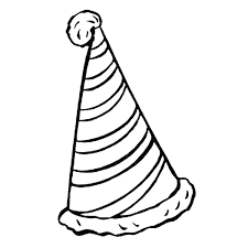 printable hat coloring pages 84 free coloring pages birthday