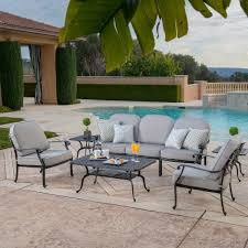 Members Mark Patio Furniture by Veranda Classics Rustic 5 Piece Sofa Set