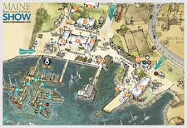 map of camden maine maine boats homes harbors show maps parking directions