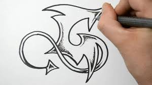 how to draw graffiti letter g youtube