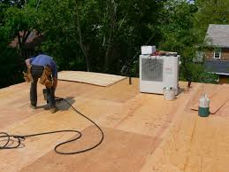 Decks With Roofs Pictures by Framing A Flat Roof With Slight Pitch In Preparation For Roofing