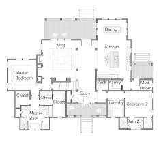 The Red Cottage Floor Plans by View Oriented House Plans With Porches Ibis Collection