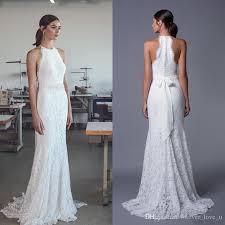 halter style wedding dresses country style 2017 wedding dress sheath column lace