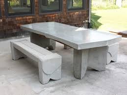 innovative concrete patio furniture 25 best ideas about concrete