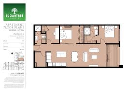 floor plans sugartree