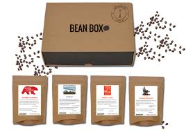 Box Coffee bean box a collection of coffee from seattle roasters delivered to