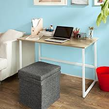 bureaux informatique sobuy fwt13 n bureau informatique plan de travail table pour