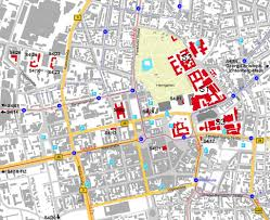 Darmstadt Germany Map by