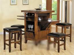 lovely small bar table and chairs with black finish pub table and
