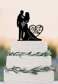 mr and mrs wedding cake toppers online shop wedding cake topper silhouette and groom with
