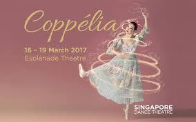 coppélia presented by singapore dance theatre esplanade