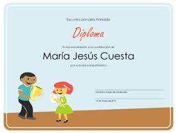 diplomas de primaria descargar diplomas de primaria diploma alumnos de primaria office templates