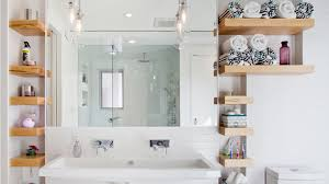 small bathroom shelves ideas 15 bathroom shelving design ideas home design lover