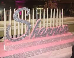 sweet 16 candelabra sweet 16 candelabra quinceanera mitzvah candle lighting