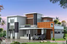 Modern Contemporary Floor Plans by Feet Modern Contemporary Villa Kerala Home Design Floor Plans