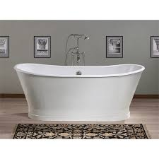 Cast Iron Bathtub Faucets Cheviot Balmoral 68 Inch Cast Iron Double Ended Pedestal Tub No