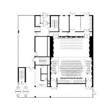 the chicago athenaeum auditorium bondy parc architectes