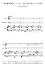 film titanic music download my heart will go on love theme from titanic free sheet music notes