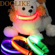 Light Up Dog Collar Light Up Led Dog Collar Doggie Desires