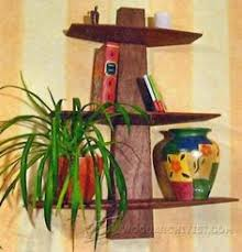 Hanging Wall Shelves Woodworking Plan by Shelf And Mirror Woodworking Plan Indoor Home Furniture Project