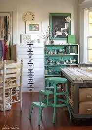 Craft Room Office - a tour of lia griffith u0027s home the creative studio