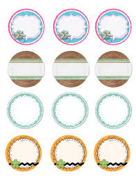 6 best images of mason jar lid label templates printable mason