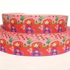 strawberry shortcake ribbon strawberry shortcake grosgrain ribbon ebay