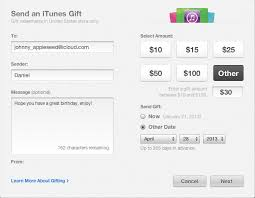 how to send an itunes gift card to a friend imobie help