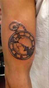 pocket watch tattoo by itchysack on deviantart