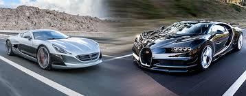 bugatti vs rimac concept one vs bugatti chiron the s best hypercars
