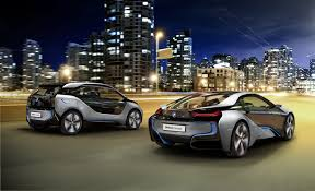 hybrid sports cars meet bmw u0027s new all electric i3 suv and hybrid electric i8 sports