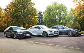 lexus vs mercedes vs bmw vs audi comfort and joy audi a4 vs bmw 320d vs jaguar xe car december