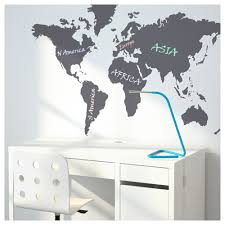 World Map Desk by