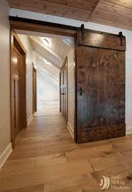 Home Barn Doors by Barn Doors Made From Reclaimed Douglas Fir Salvaged From A Nearby