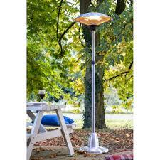 fire sense halogen patio heater electric patio heaters 167cm tall 2700w 360 degree outdoor garden