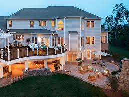 beautiful backyard decks patios fire pits diy deck house plans
