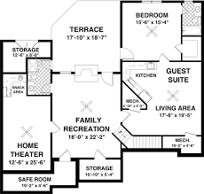 house plans with finished basements the fincastle 8446 3 bedrooms and 2 5 baths the house designers