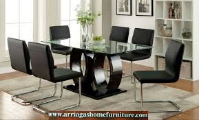 Dining Room Sets Glass Table by Dinette Sets Arriaga U0027s Home Furniture