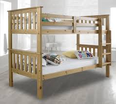 3ft Bunk Beds Atlantis Wood Bunk Bed 3ft Single With 4 Mattress And 2 Colour
