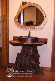 Bathroom Vanities Made In America by Rustic Bathroom Vanity Made From Juniper And Redwood