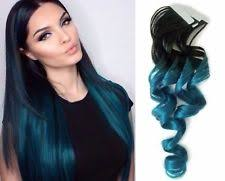 blue hair extensions human blue hair extensions ebay