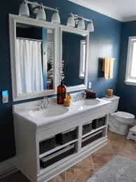 Black White Bathroom Ideas Bathroom Ideas On A Low Budget Curve White Finish Stained Wooden