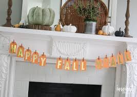 Home Made Fall Decorations Diy Fall Tag Banners Eighteen25