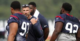 defensive coordinator mike vrabel sets the tone for texans