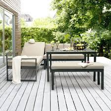 canapé d angle de jardin salon de jardin kettler océan canapé d angle table banc